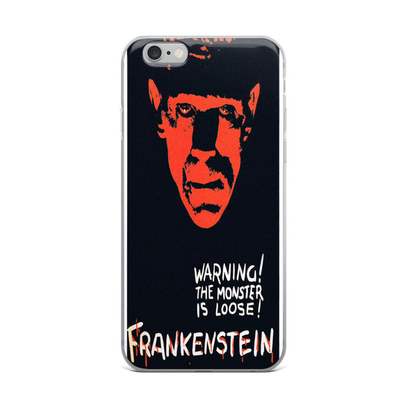 Frankenstein Movie Poster iPhone Case