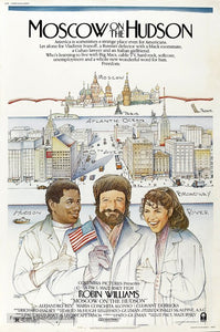 Moscow on the Hudson Poster//Moscow on the Hudson Movie Poster//Movie Poster//Poster Reprint