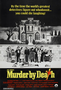 Murder by Death Poster//Murder by Death Movie Poster//Movie Poster//Poster Reprint
