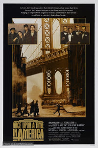 Once Upon a Time in America Poster//Once Upon a Time in America Movie Poster//Movie Poster//Poster Reprint