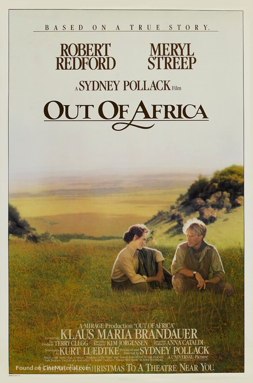 Out of Africa Poster//Out of Africa Movie Poster//Movie Poster//Poster Reprint