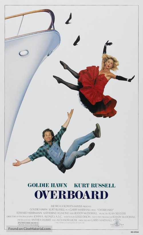 Overboard Poster//Overboard Movie Poster//Movie Poster//Poster Reprint