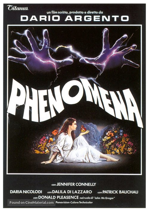 Phenomena Poster//Phenomena Movie Poster//Movie Poster//Poster Reprint