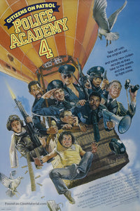 Police Academy 4: Citizens on Patrol Poster//Police Academy 4: Citizens on Patrol Movie Poster//Movie Poster//Poster Reprint