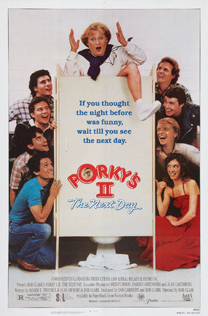 Porky's II: The Next Day Poster//Porky's II: The Next Day Movie Poster//Movie Poster//Poster Reprint