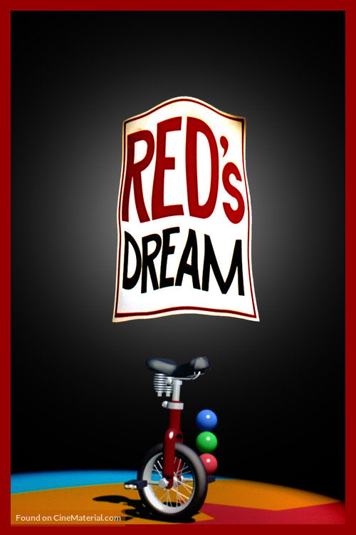 Red's Dream Poster//Red's Dream Movie Poster//Movie Poster//Poster Reprint