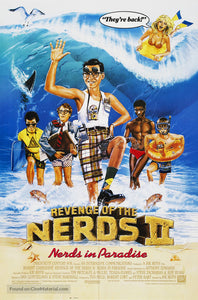 Revenge of the Nerds II: Nerds in Paradise Poster//Revenge of the Nerds II: Nerds in Paradise Movie Poster//Movie Poster//Poster Reprint