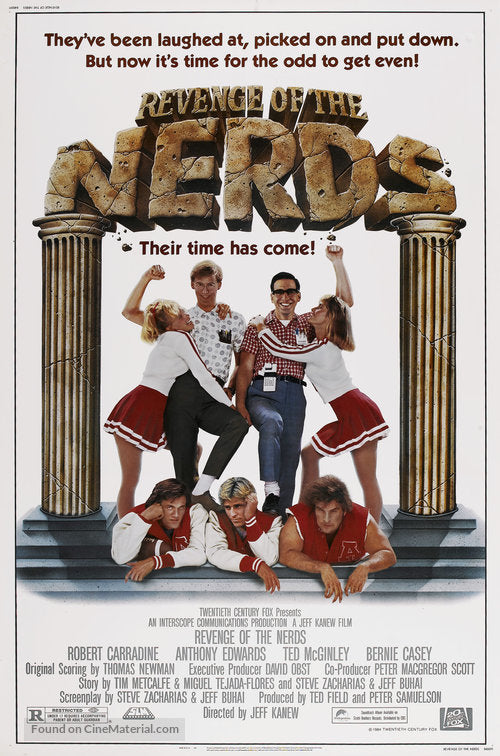 Revenge of the Nerds Poster//Revenge of the Nerds Movie Poster//Movie Poster//Poster Reprint