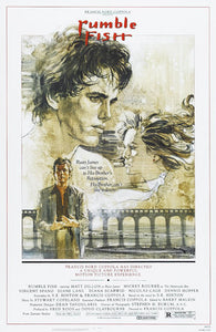 Rumble Fish Poster//Rumble Fish Movie Poster//Movie Poster//Poster Reprint