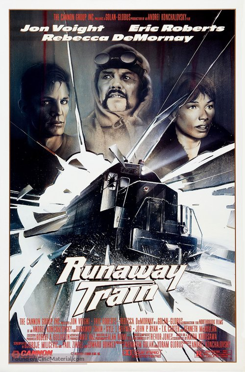 Runaway Train Poster//Runaway Train Movie Poster//Movie Poster//Poster Reprint