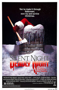 Silent Night, Deadly Night Poster//Silent Night, Deadly Night Movie Poster//Movie Poster//Poster Reprint