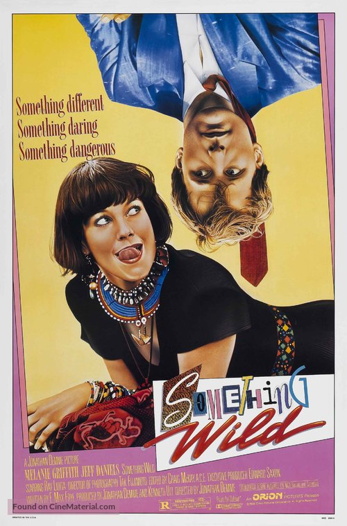 Something Wild Poster//Something Wild Movie Poster//Movie Poster//Poster Reprint