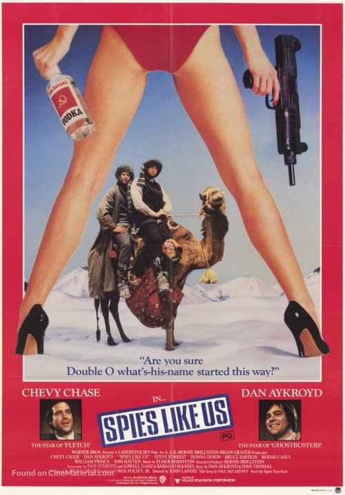 Spies Like Us Poster//Spies Like Us  Movie Poster//Movie Poster//Poster Reprint