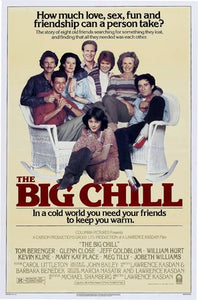 The Big Chill Poster//The Big Chill Movie Poster//Movie Poster//Poster Reprint