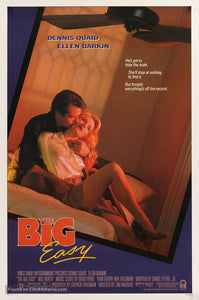 The Big Easy Poster//The Big Easy Movie Poster//Movie Poster//Poster Reprint
