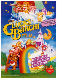 The Care Bears Movie Poster//The Care Bears Movie Movie Poster//Movie Poster//Poster Reprint