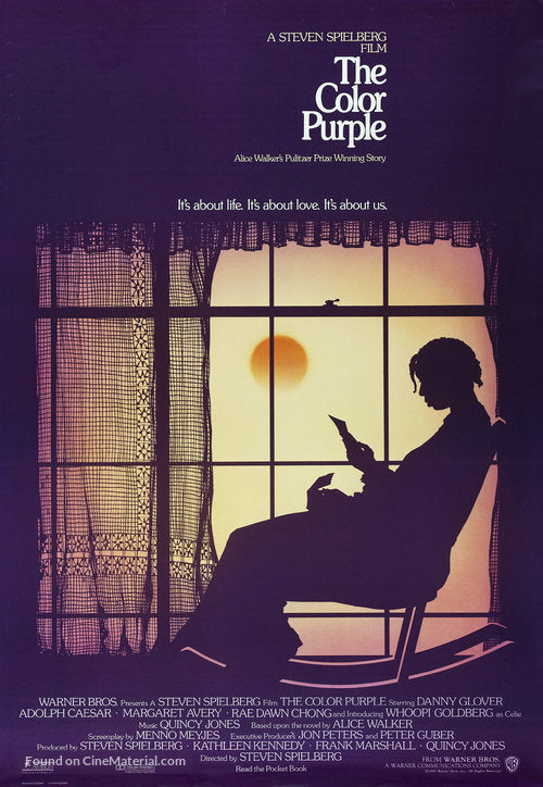 The Color Purple Poster//The Color Purple Movie Poster//Movie Poster//Poster Reprint
