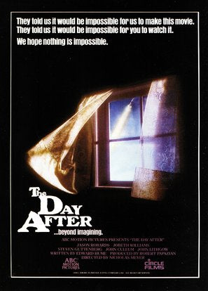 The Day After Poster//The Day After Movie Poster//Movie Poster//Poster Reprint