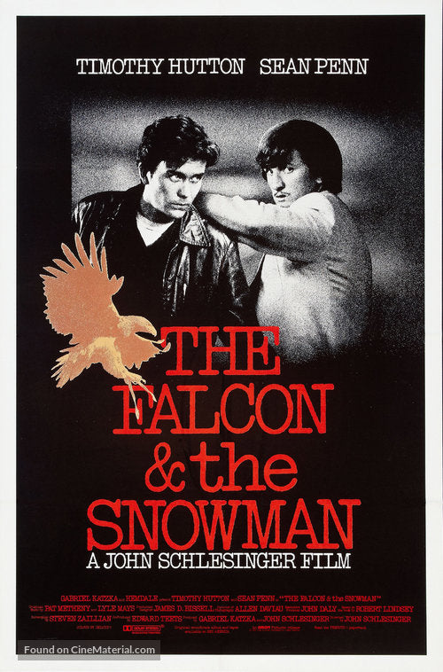 The Falcon and the Snowman Poster//The Falcon and the Snowman Movie Poster//Movie Poster//Poster Reprint