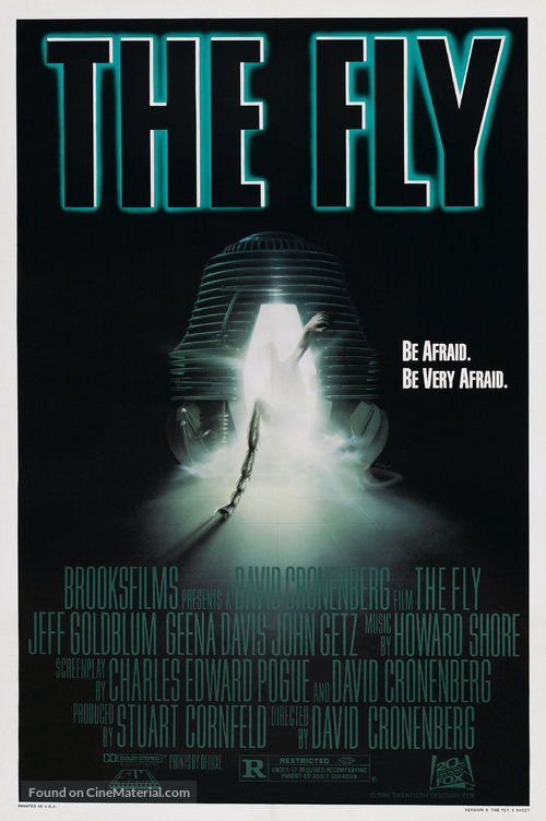 The Fly Poster//The Fly Movie Poster//Movie Poster//Poster Reprint