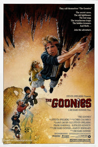 The Goonies Poster//The Goonies Movie Poster//Movie Poster//Poster Reprint