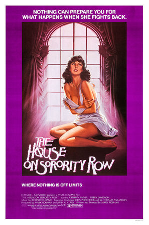 The House on Sorority Row Poster//The House on Sorority Row Movie Poster//Movie Poster//Poster Reprint