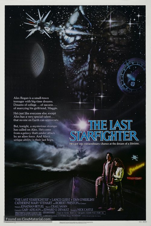 The Last Starfighter Poster//The Last Starfighter Movie Poster//Movie Poster//Poster Reprint