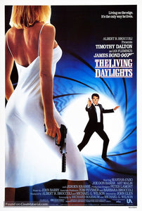 The Living Daylights Poster//The Living Daylights Movie Poster//Movie Poster//Poster Reprint