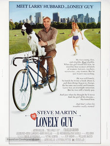 The Lonely Guy Poster//The Lonely Guy Movie Poster//Movie Poster//Poster Reprint