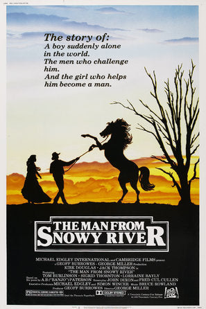 The Man from Snowy River Poster//The Man from Snowy River Movie Poster//Movie Poster//Poster Reprint
