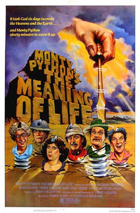 The Meaning Of Life Poster//The Meaning Of Life Movie Poster//Movie Poster//Poster Reprint