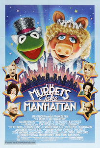 The Muppets Take Manhattan Poster//The Muppets Take Manhattan Movie Poster//Movie Poster//Poster Reprint