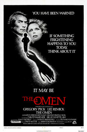 The Omen Poster//The Omen Movie Poster//Movie Poster//Poster Reprint