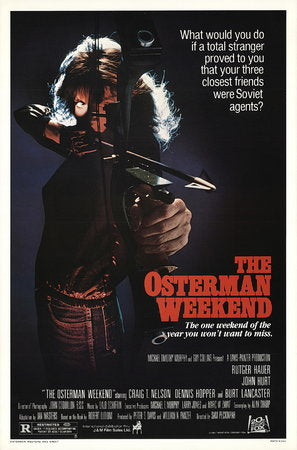 The Osterman Weekend Poster//The Osterman Weekend Movie Poster//Movie Poster//Poster Reprint