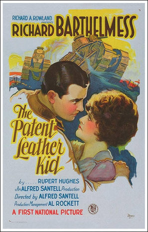 The Patent Leather Kid Poster//The Patent Leather Kid Movie Poster//Movie Poster//Poster Reprint