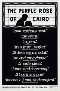 The Purple Rose of Cairo Poster//The Purple Rose of Cairo Movie Poster//Movie Poster//Poster Reprint