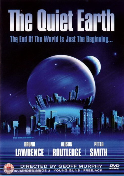 The Quiet Earth Poster//The Quiet Earth Movie Poster//Movie Poster//Poster Reprint