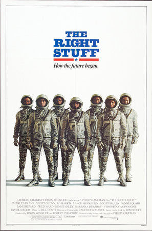 The Right Stuff Poster//The Right Stuff Movie Poster//Movie Poster//Poster Reprint
