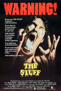 The Stuff Poster//The Stuff Movie Poster//Movie Poster//Poster Reprint