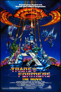 The Transformers: The Movie Poster//The Transformers: The Movie Movie Poster//Movie Poster//Poster Reprint