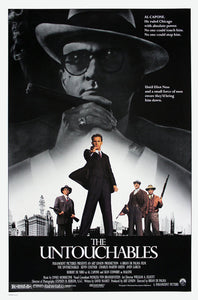 The Untouchables Poster//The Untouchables Movie Poster//Movie Poster//Poster Reprint