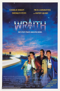 The Wraith Poster//The Wraith Movie Poster//Movie Poster//Poster Reprint