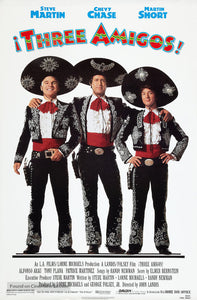 Three Amigos! Poster//Three Amigos! Movie Poster//Movie Poster//Poster Reprint