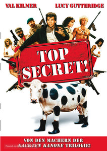 Top Secret Poster//Top Secret Movie Poster//Movie Poster//Poster Reprint