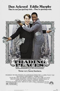Trading Places Poster//Trading Places Movie Poster//Movie Poster//Poster Reprint