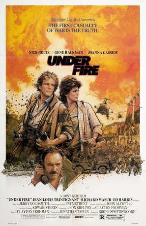 Under Fire Poster//Under Fire Movie Poster//Movie Poster//Poster Reprint