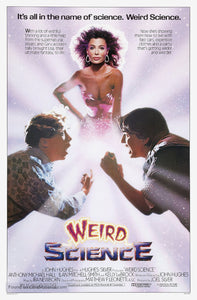 Weird Science Poster//Weird Science Movie Poster//Movie Poster//Poster Reprint