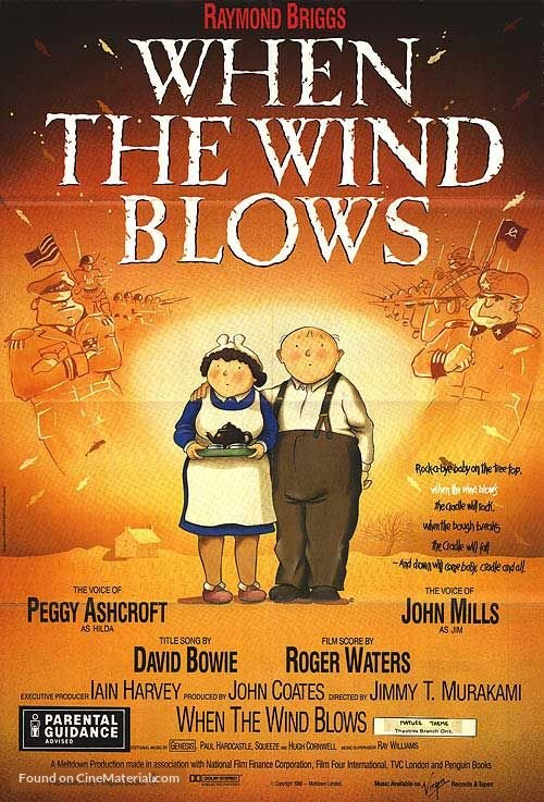 When the Wind Blows Poster//When the Wind Blows Movie Poster//Movie Poster//Poster Reprint