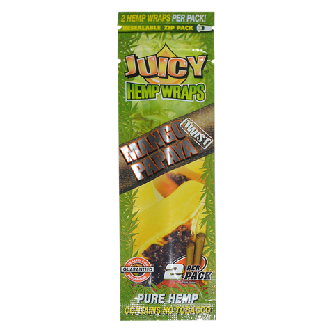 Double Hemp Wraps Mango/Papaya