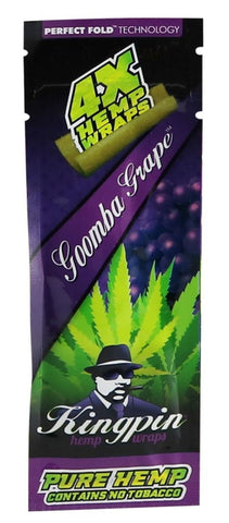4X Hemp Wraps Gomba Grape